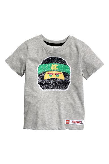 Sequin T Shirt For Kids