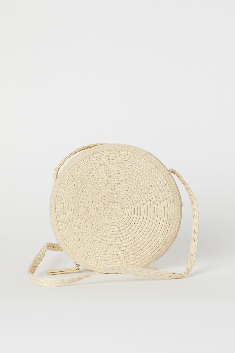 Straw Shoulder Bag