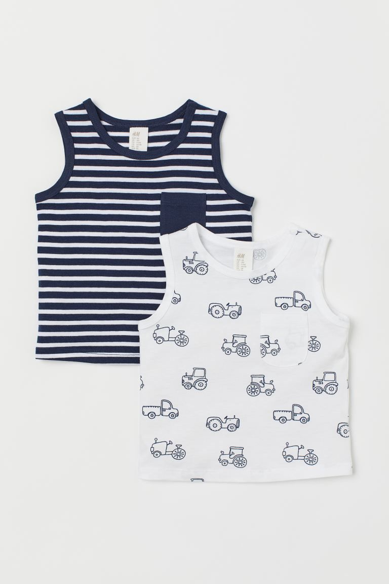 2-pack Cotton Tank Tops