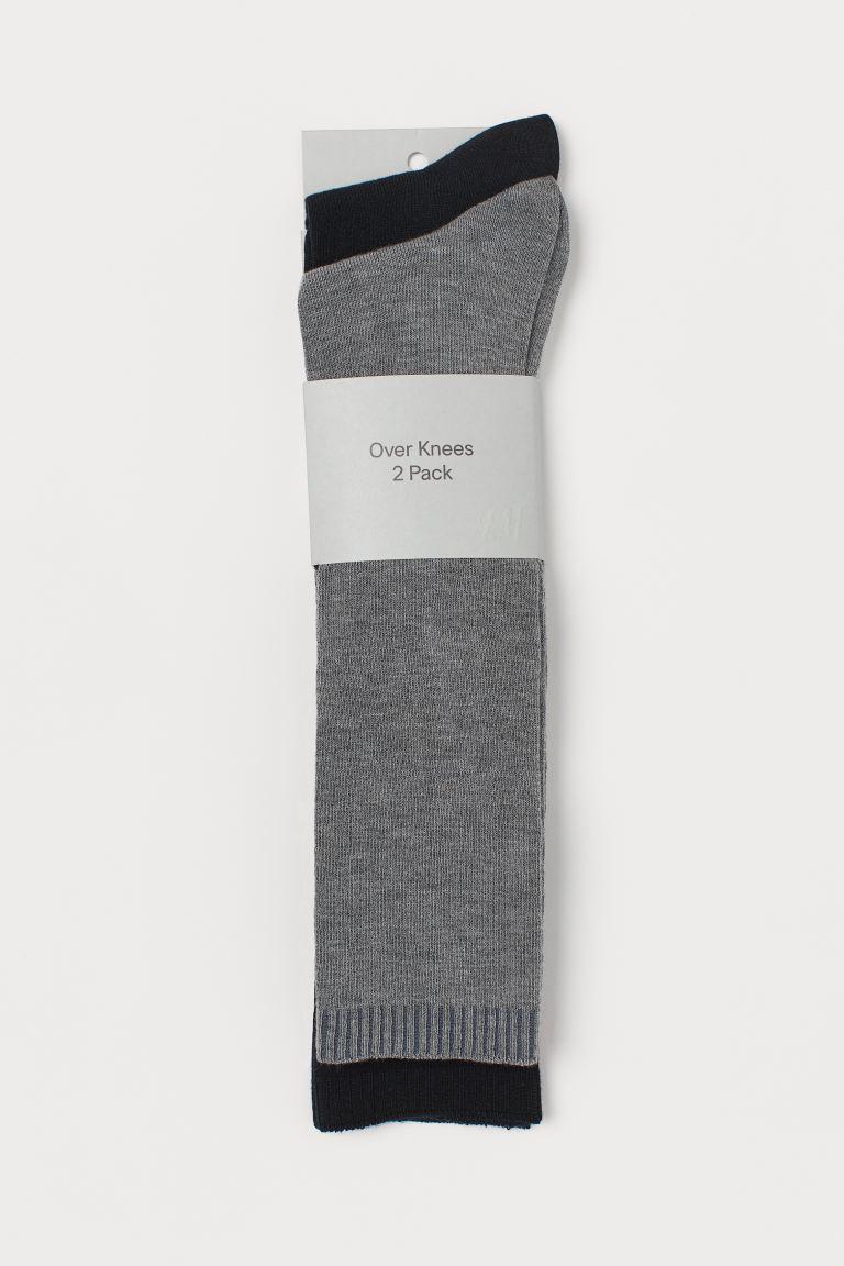 2-pack Over-knee Socks
