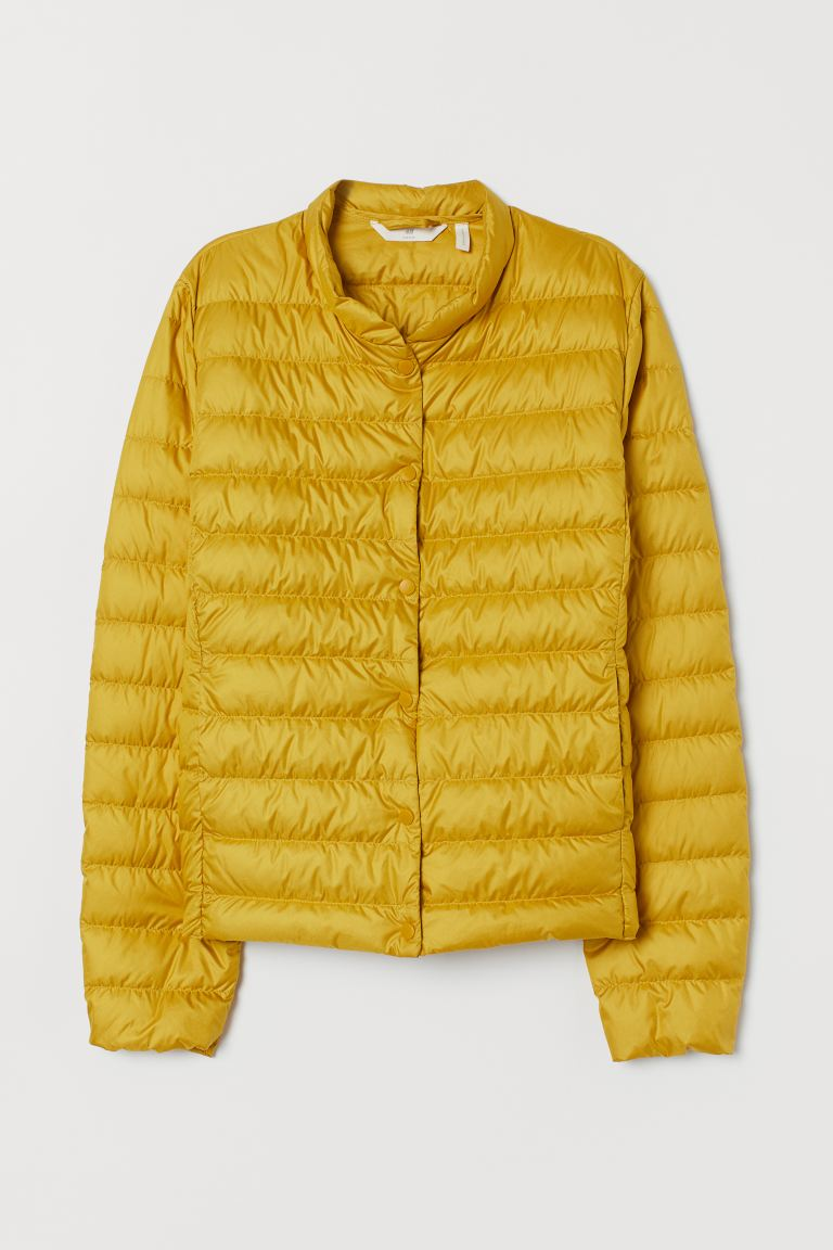 Lightweight down jacket - Yellow - Ladies | H&M GB