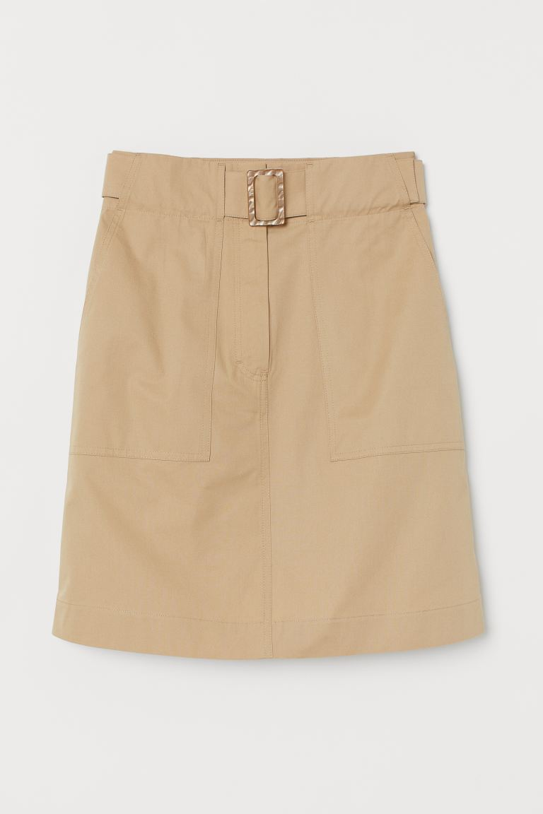 Utility Skirt with Belt
