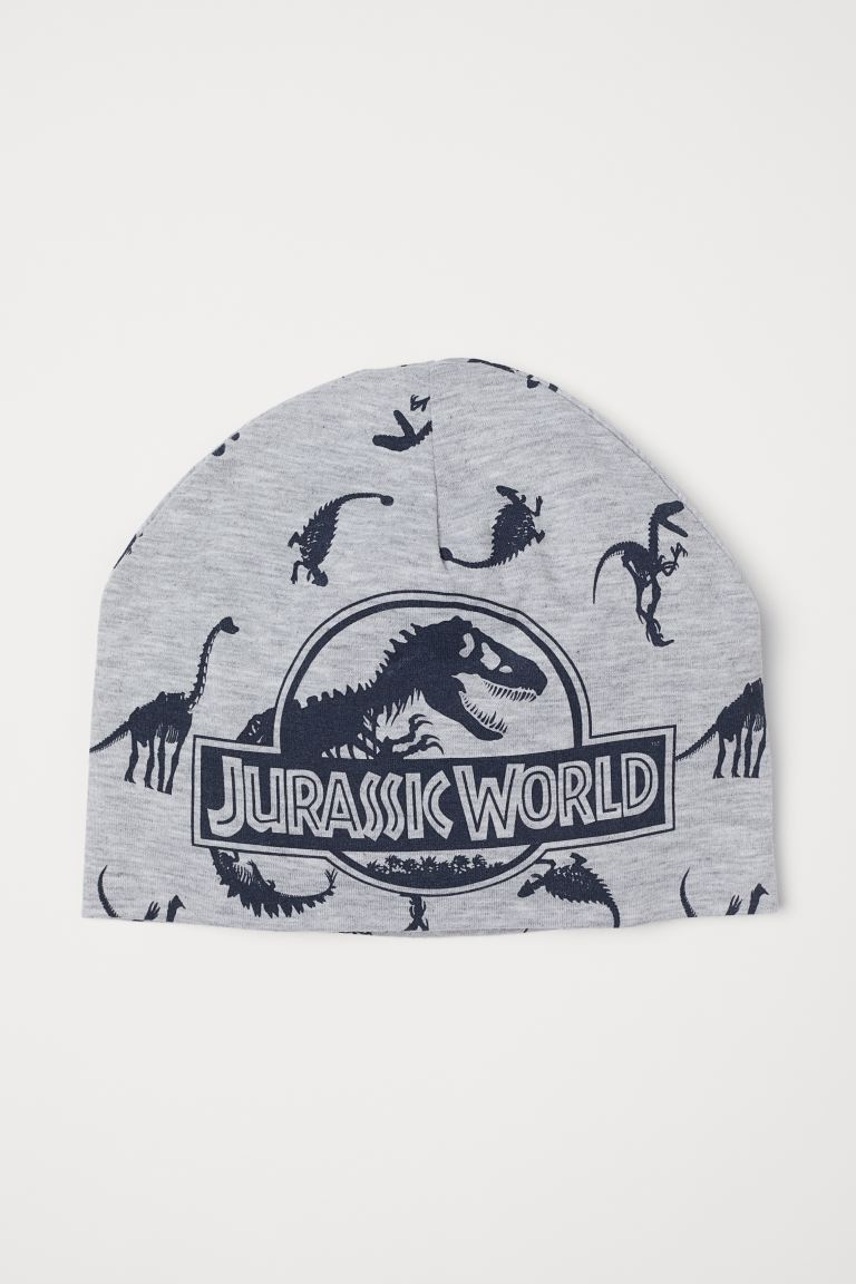 Jersey Hat with Printed Design