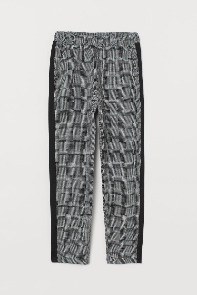 Pull-on Side-stripe Pants