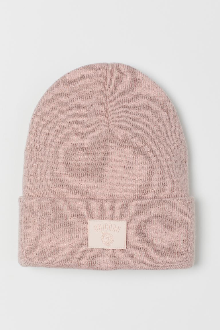 Glittery hat - Light pink - Kids | H&M GB