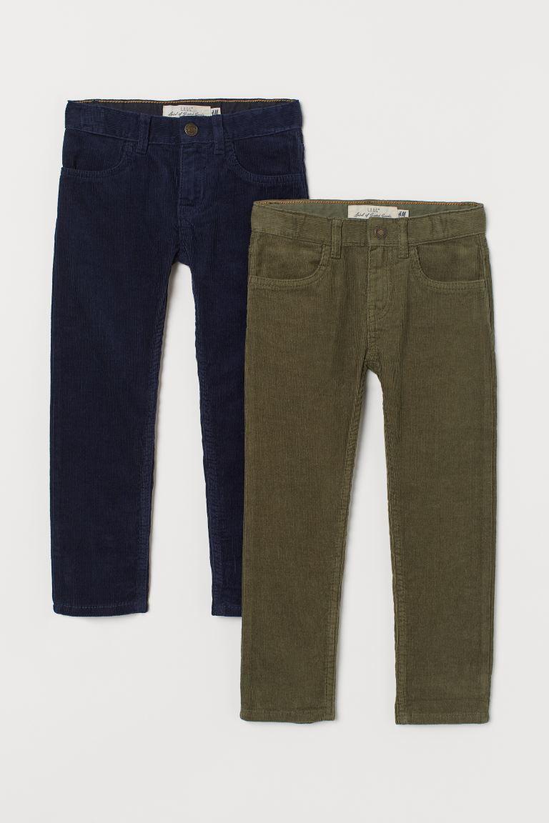 2-pack Corduroy Pants