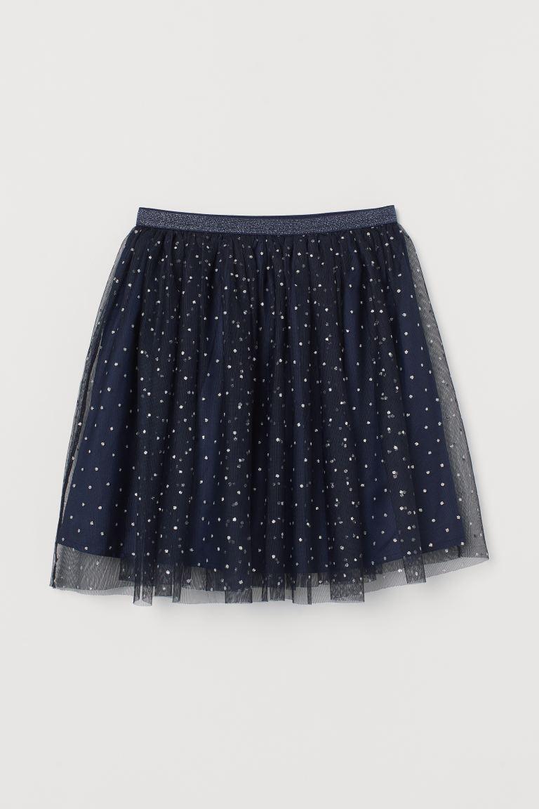 Glittery Tulle Skirt