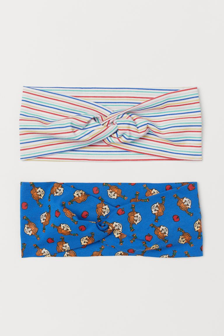 2-pack Patterned Hairbands