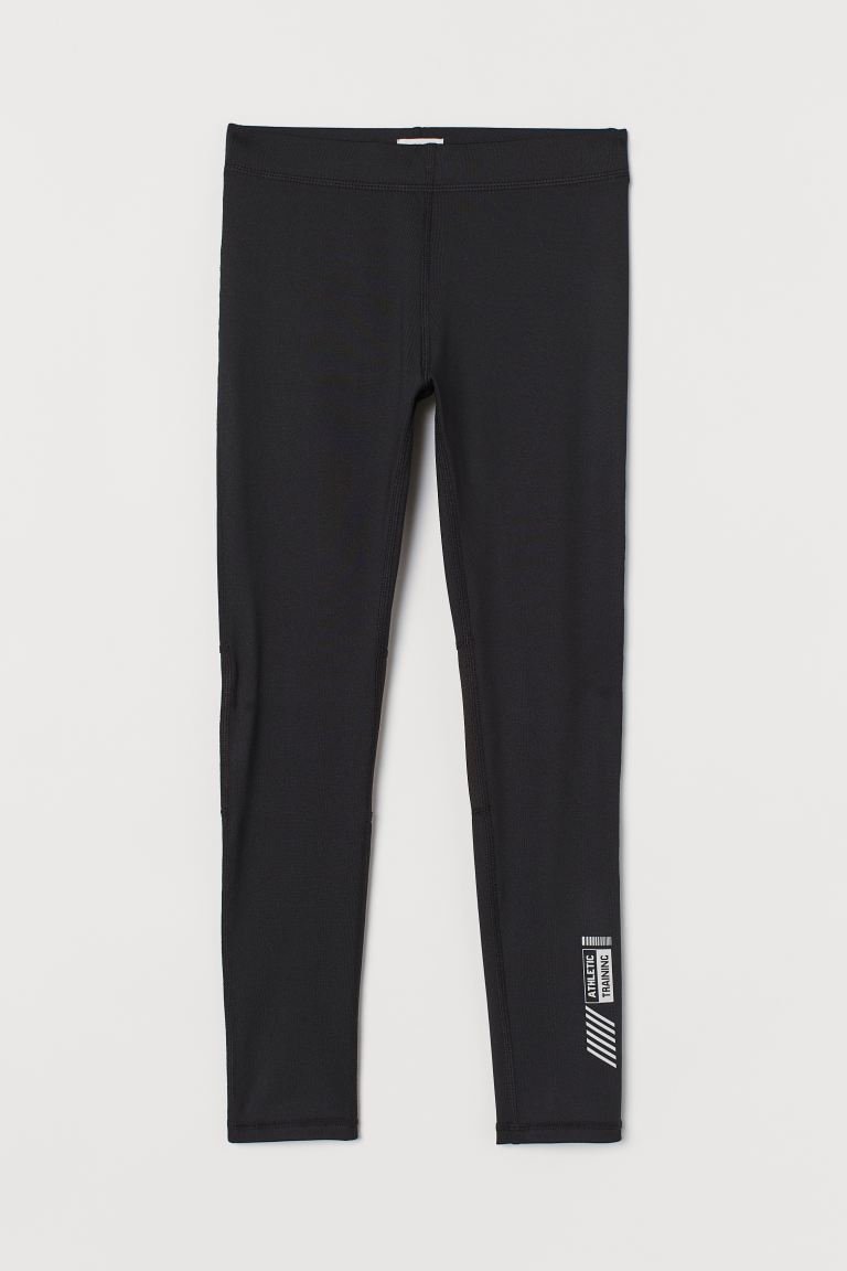 Sports tights - Black - Kids | H&M GB