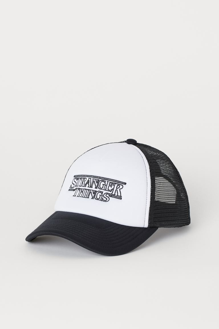 Cap with Printed Design