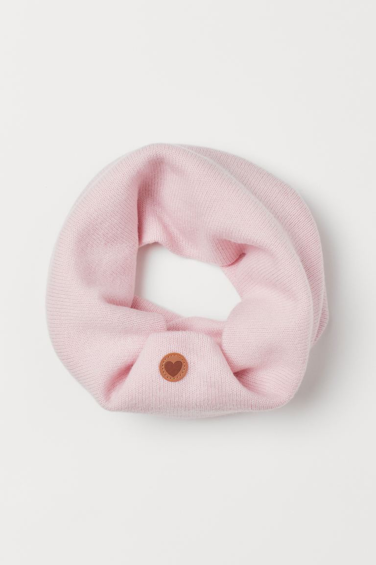 Wool tube scarf - Light pink - Kids | H&M GB