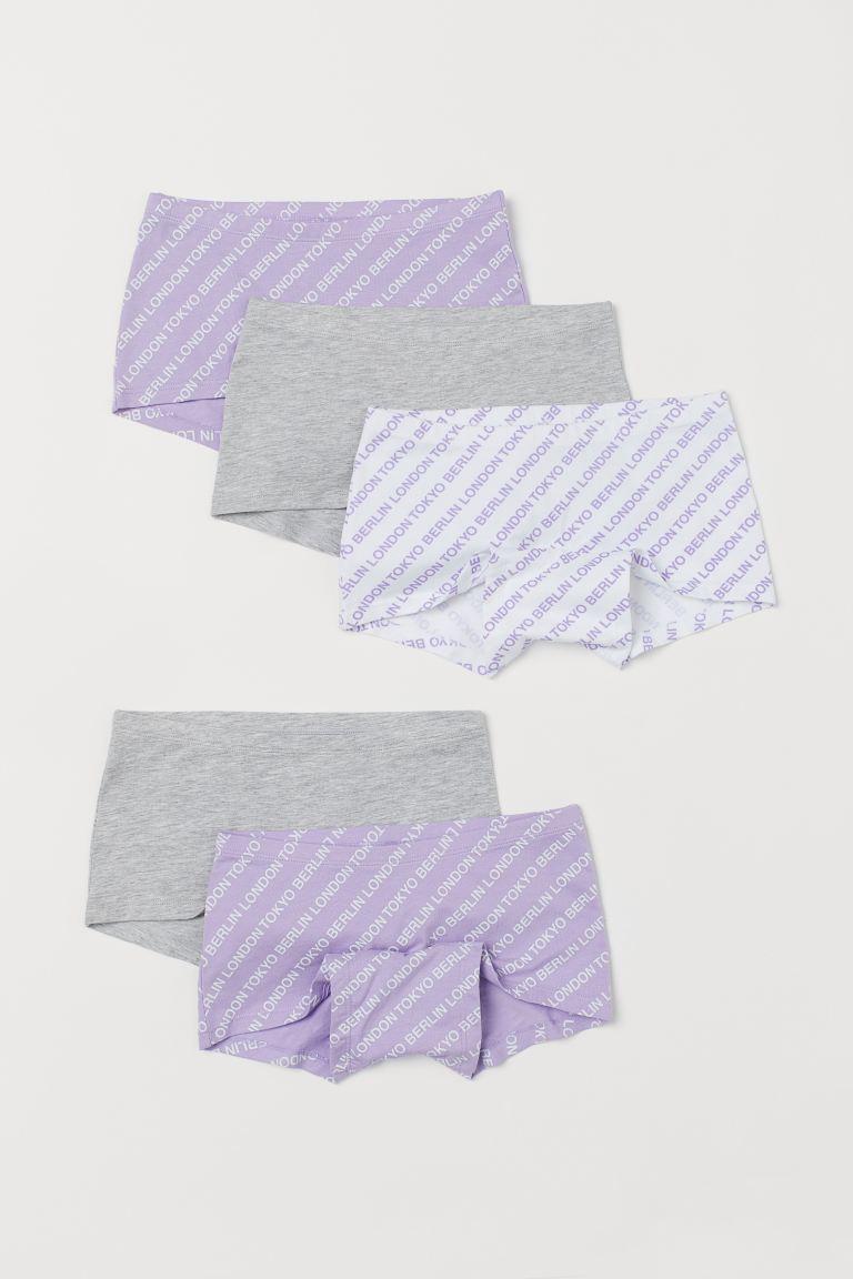 5-pack Cotton Boxer Briefs