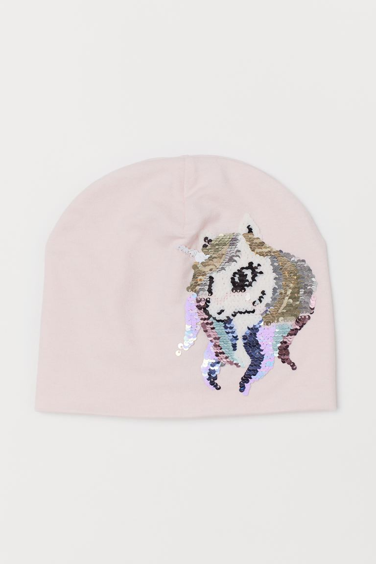 Hat with Sequins