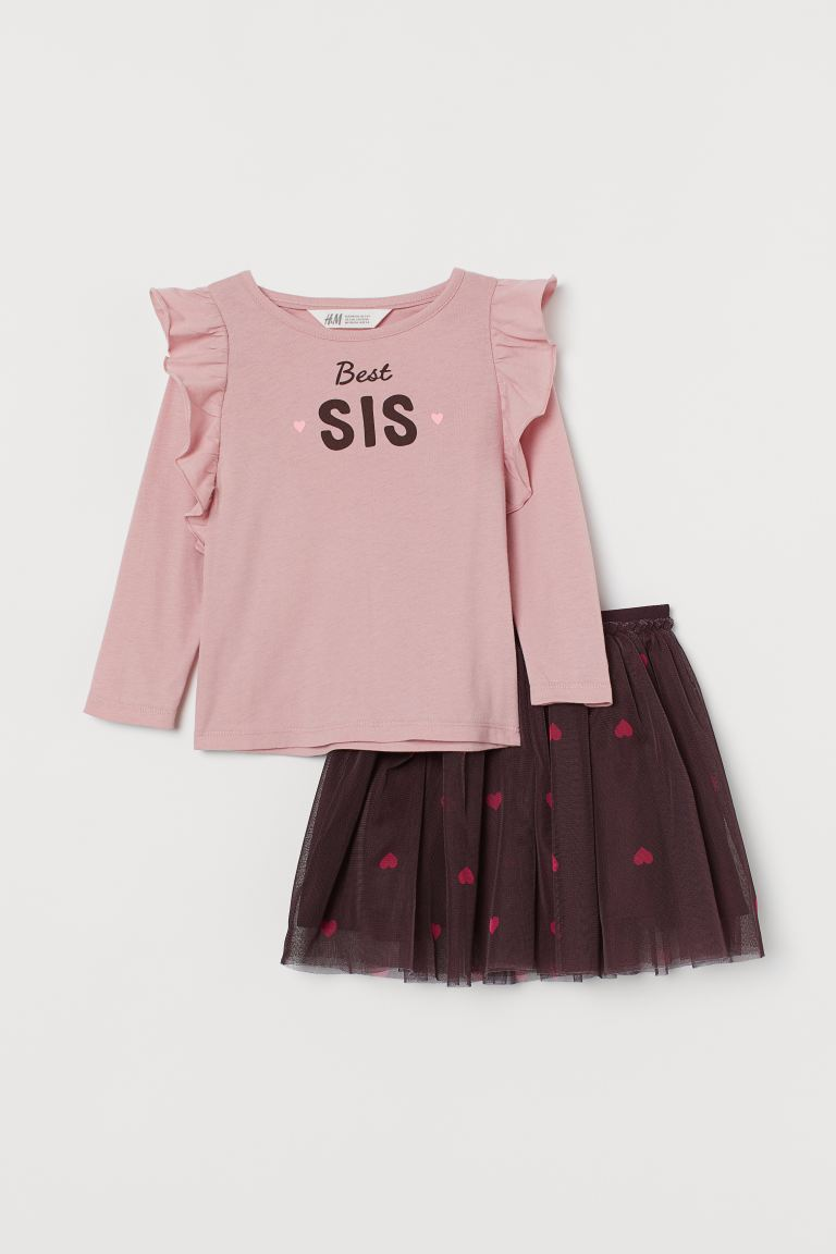 Top and Tulle Skirt