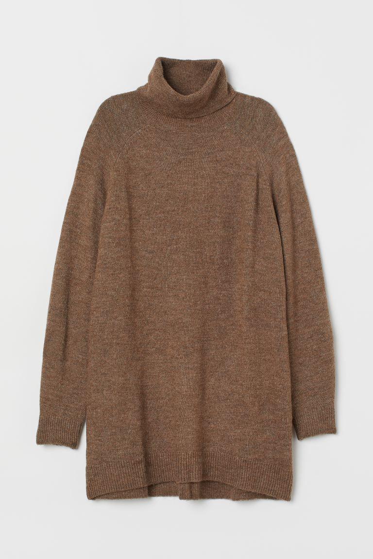 Long Turtleneck Sweater