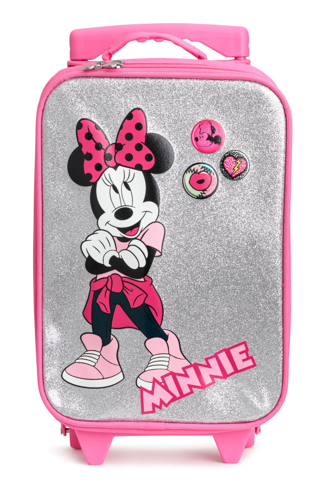 Suitcase pink minnie mouse hm 1