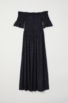 Dress with smocking