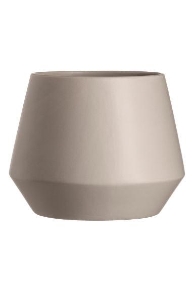 grand pot en gr s gris clair h m fr. Black Bedroom Furniture Sets. Home Design Ideas