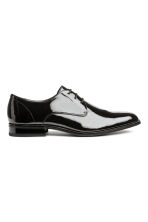 Derby shoes - Black/Patent - Men | H&M IE 2