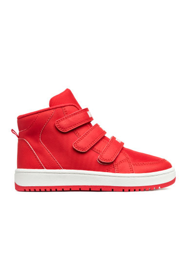 Hi-top trainers - Bright red -  | H&M