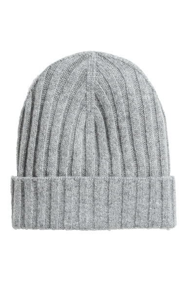 Cashmere-blend hat - Light grey - Ladies | H&M 1