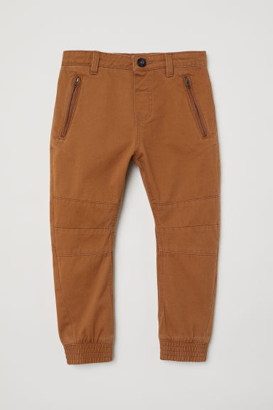 Joggers in twill - Marrone - BAMBINO | H&M IT