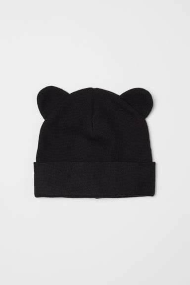 Hat with ears - Black - Kids | H&M CN