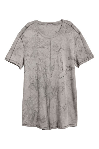 T-shirt - Light grey - Men | H&M