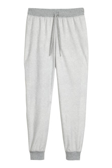 Fleece pyjamabroek