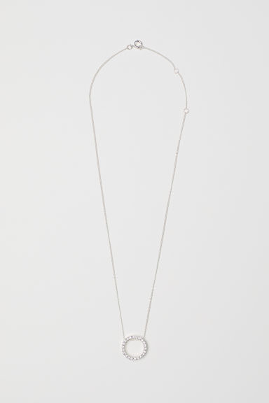 Collana con pendente - Argentato - DONNA | H&M IT