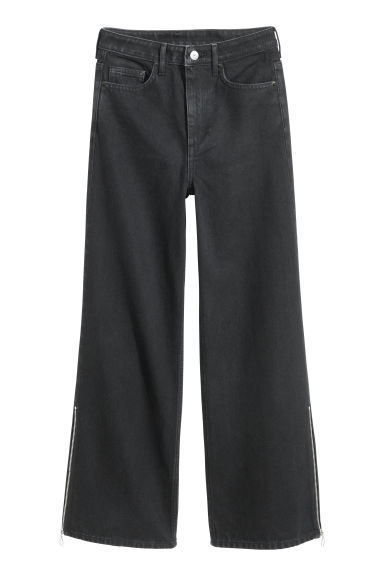 Culotte - High Waist - Zwart - DAMES | H&M BE