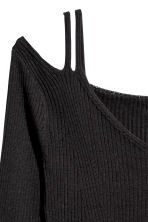 Cold shoulder top - Black - Ladies | H&M GB 3