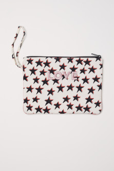 Patterned Toiletry Bag