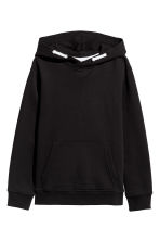 Hooded top - Black - Kids | H&M 2