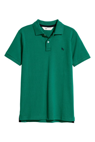 Polo shirt - Green - Kids | H&M CN