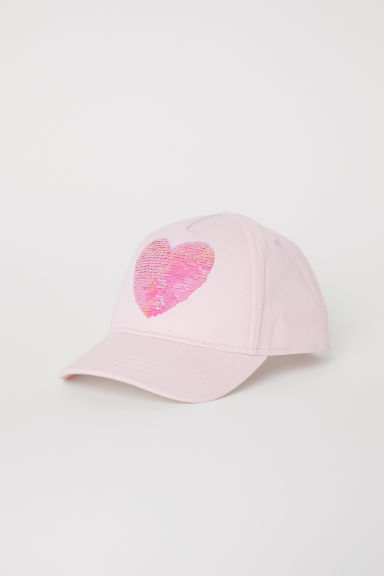 Cap - Light pink/Heart -  | H&M CN