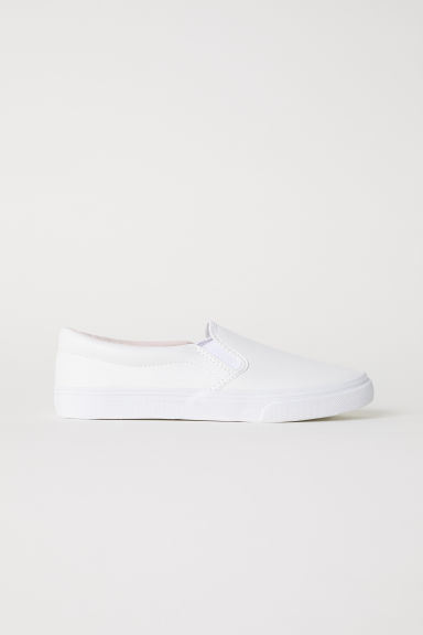 Slip-on trainers - White -  | H&M IE