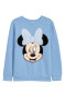 Light blue/Minnie Mouse