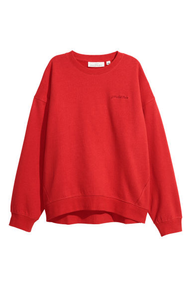 Sweatshirt - Red -  | H&M
