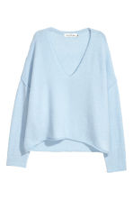 Knitted jumper - Light blue - Ladies | H&M CN 2
