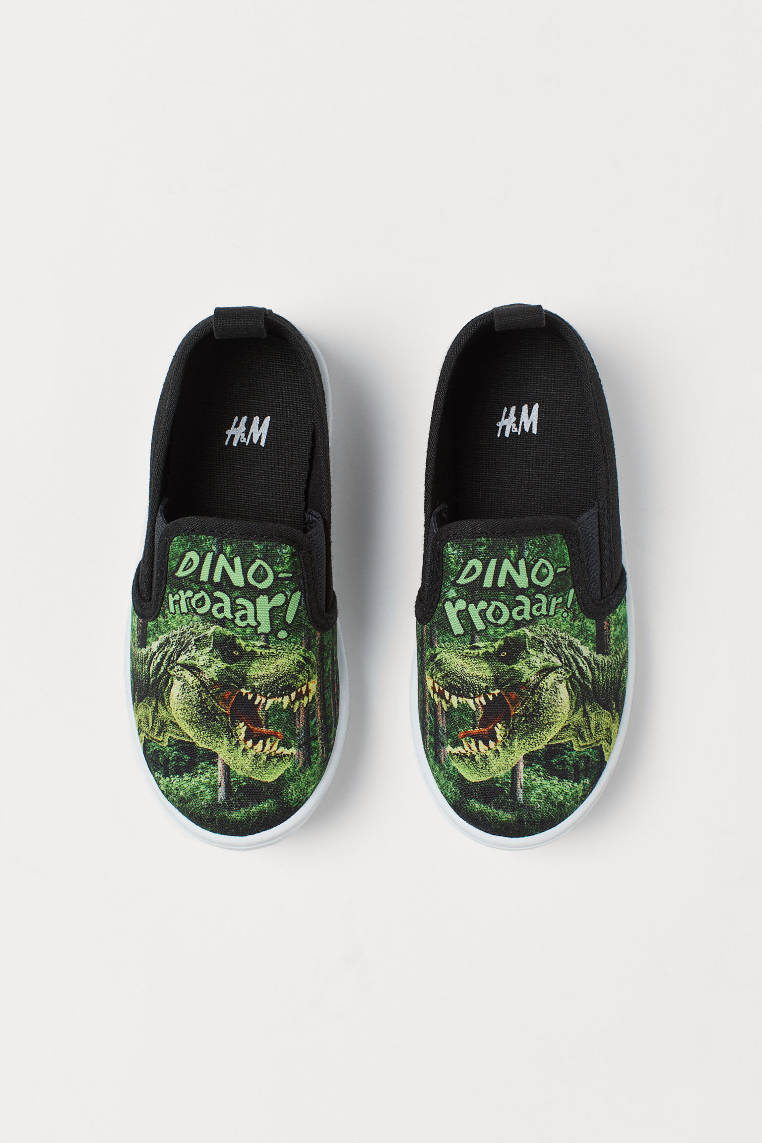 H&M Printed Slip-on Shoes