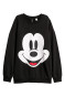 Zwart/Mickey Mouse