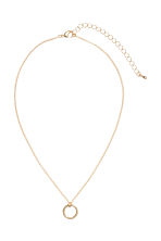 Necklace with a pendant - Gold-coloured - Ladies | H&M CN 3