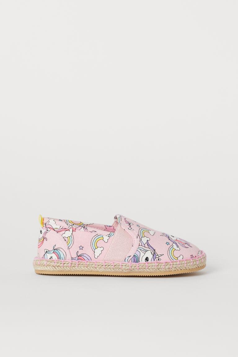 Espadrilles - Light pink/Unicorns - Kids | H&M GB