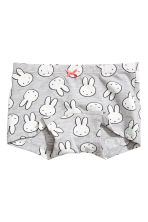 3-pack boxer briefs - Light pink/Miffy - Kids | H&M CN 2