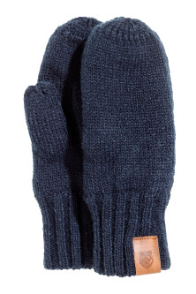 Fleece-lined mittens