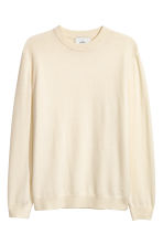 Cashmere jumper - Natural white - Men | H&M CN 2