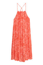 Sleeveless maxi dress - Coral/Patterned - Ladies | H&M 2
