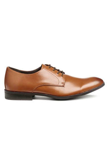 Derby shoes - Cognac brown - Men | H&M CN