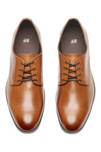 德比鞋 - Cognac brown - Men | H&M 2